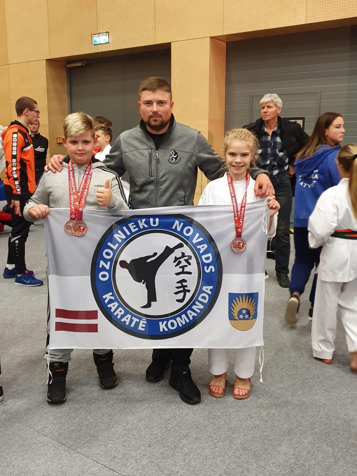 Karatistiem starts Latvijas čempionātā