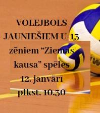 ZIEMAS KAUSS volejbolā