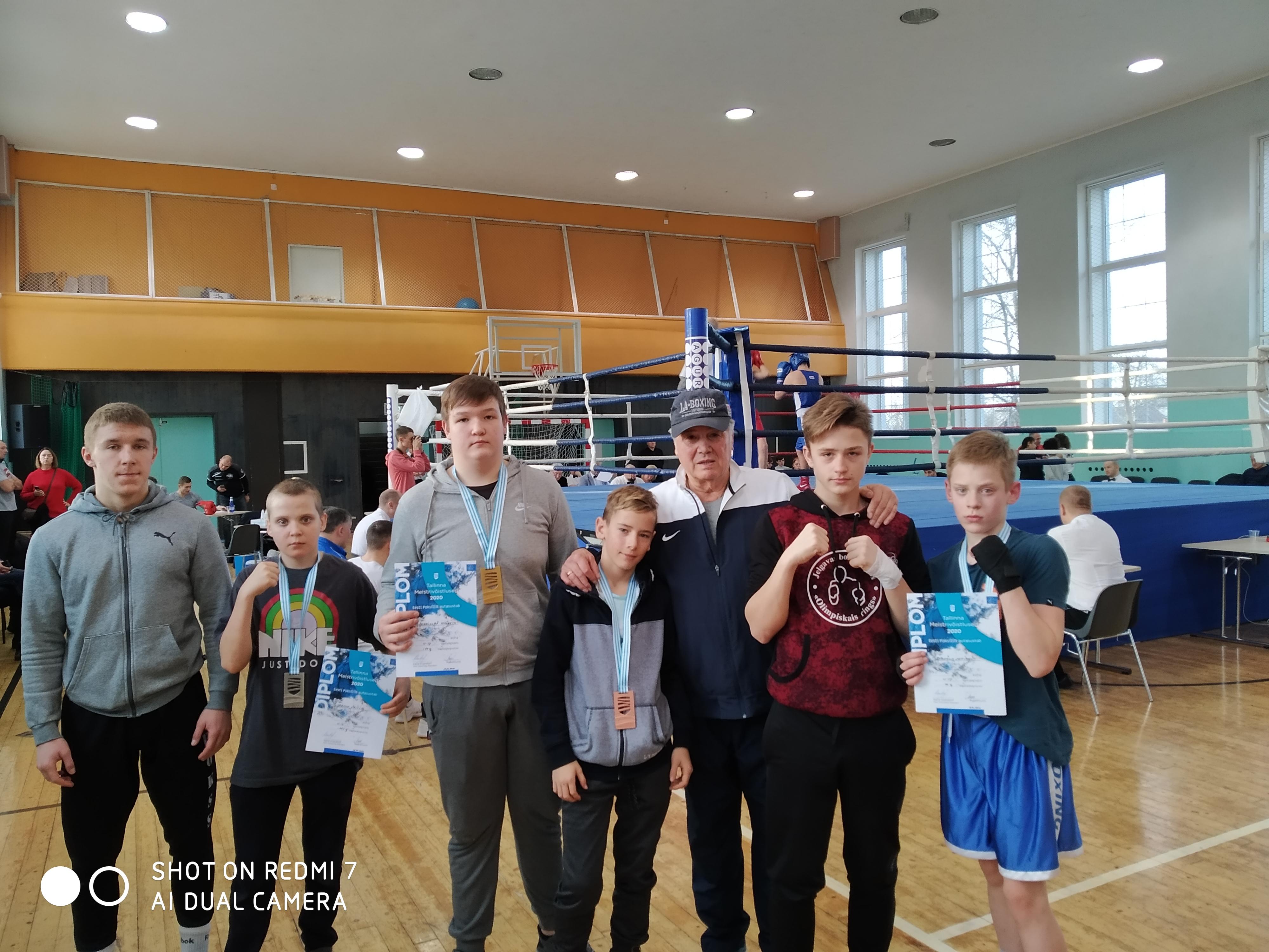Tallinas atklātais čempionāts boksā
