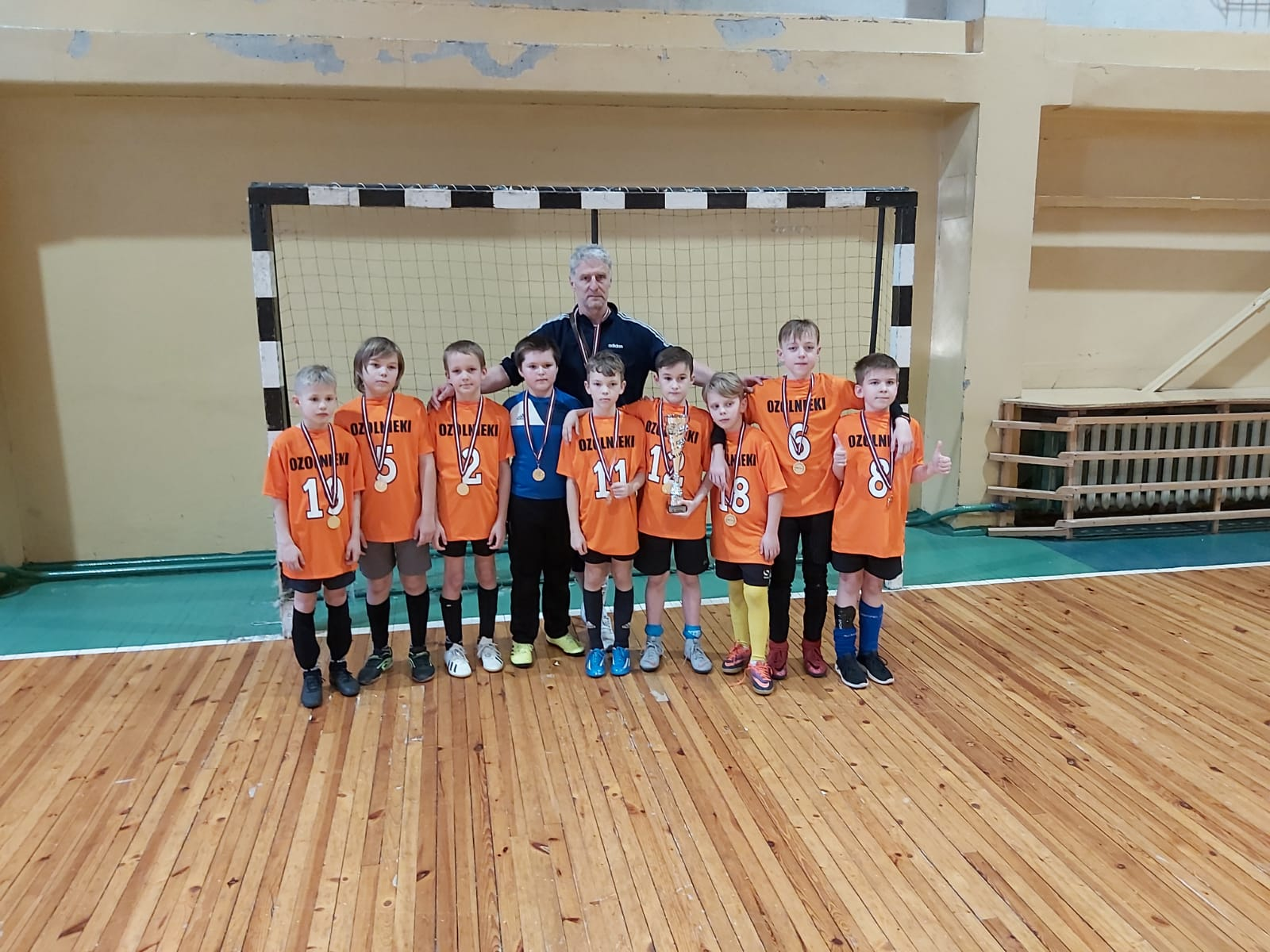 Zemgales reģiona čempioni - Ozolnieku Sporta skolas jaunie futbolisti