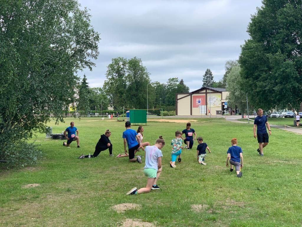 Ozolnieku Sporta skolas Vieglatlētikas vecākās grupas audzēkņi piedalījās sacensībās