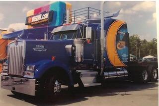 America Online 30 ARL Truck
