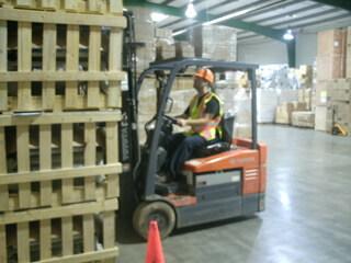 ARL Network Warehouse-Forklift 2