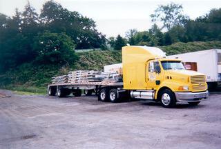 ARL Yellow Flatbed Load