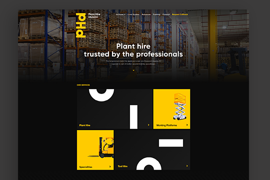 Plant Hire Template