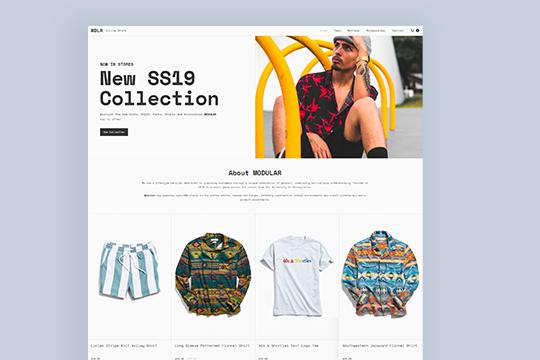 MODULAR — Online Store