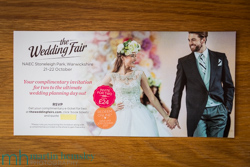 The West Midlands Wedding Fair at NAEC Stoneleigh Park