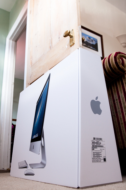 Using an iMac as a door stop !?!