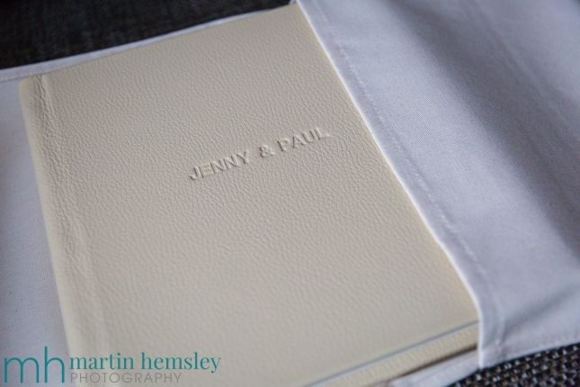 Jenny & Paul's Wedding Album From Folio Albums