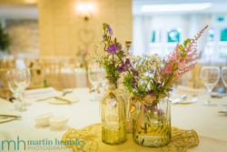 Wedding Breakfast Room Details - Capturing Images For Life