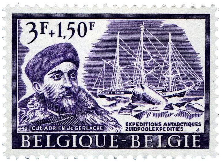Belgica Adrien de Gerlache stamp