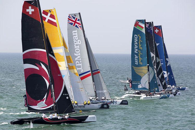 Saildrone wing design contest Extreme Sailing Series