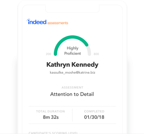 breezy indeed assessments integration