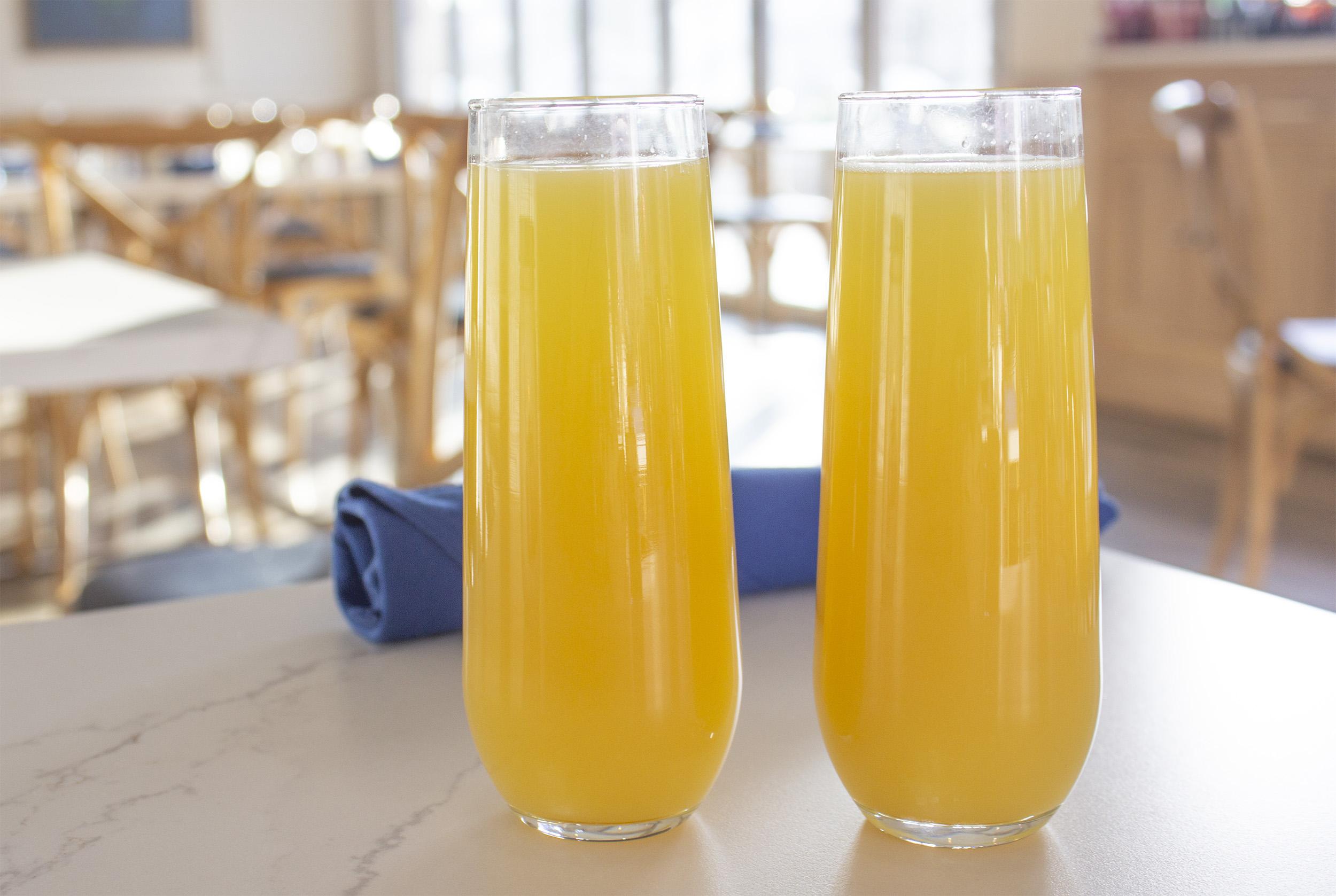 Bottomless Mimosas at Panos