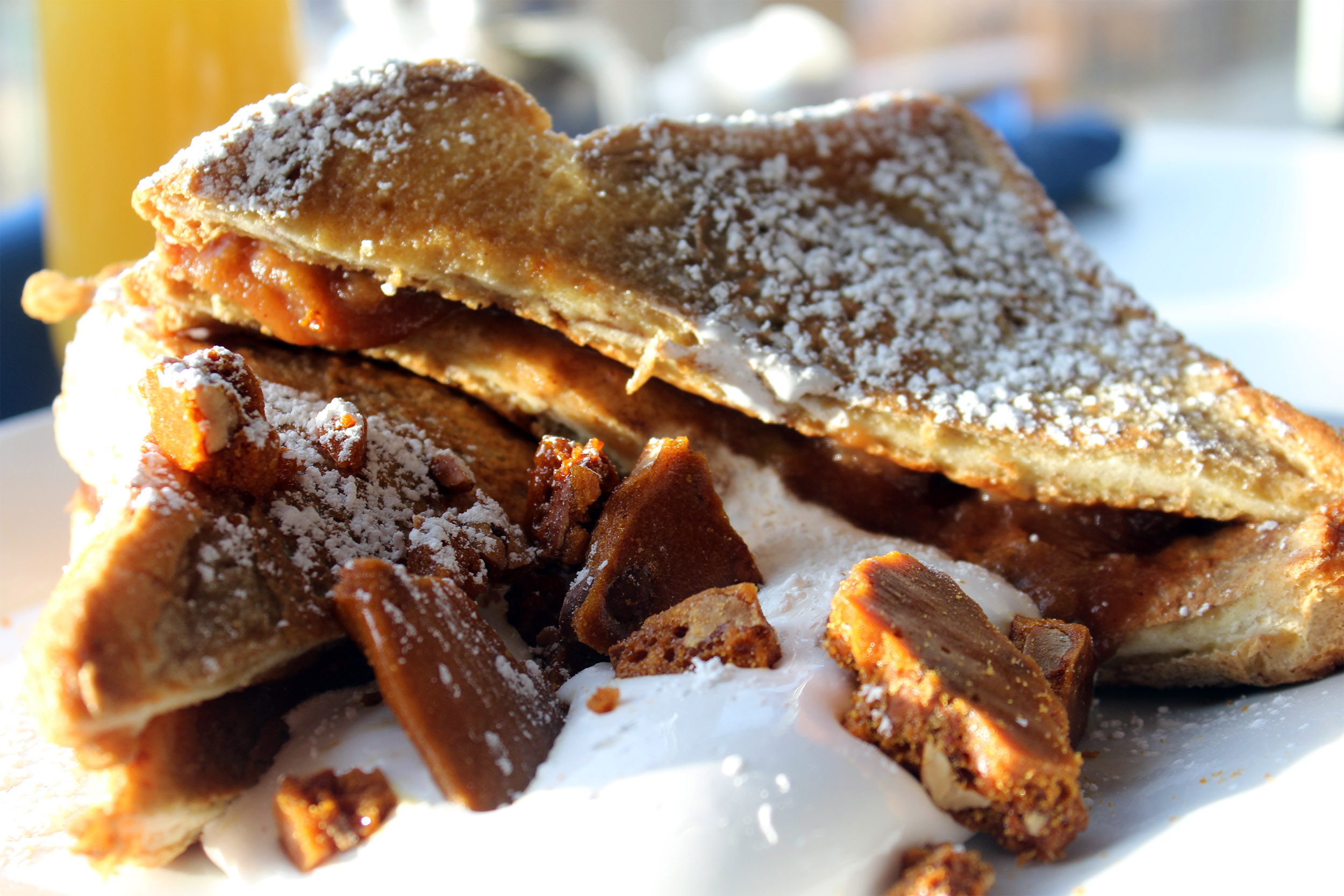 Panos on Elmwood Stuffed French Toast