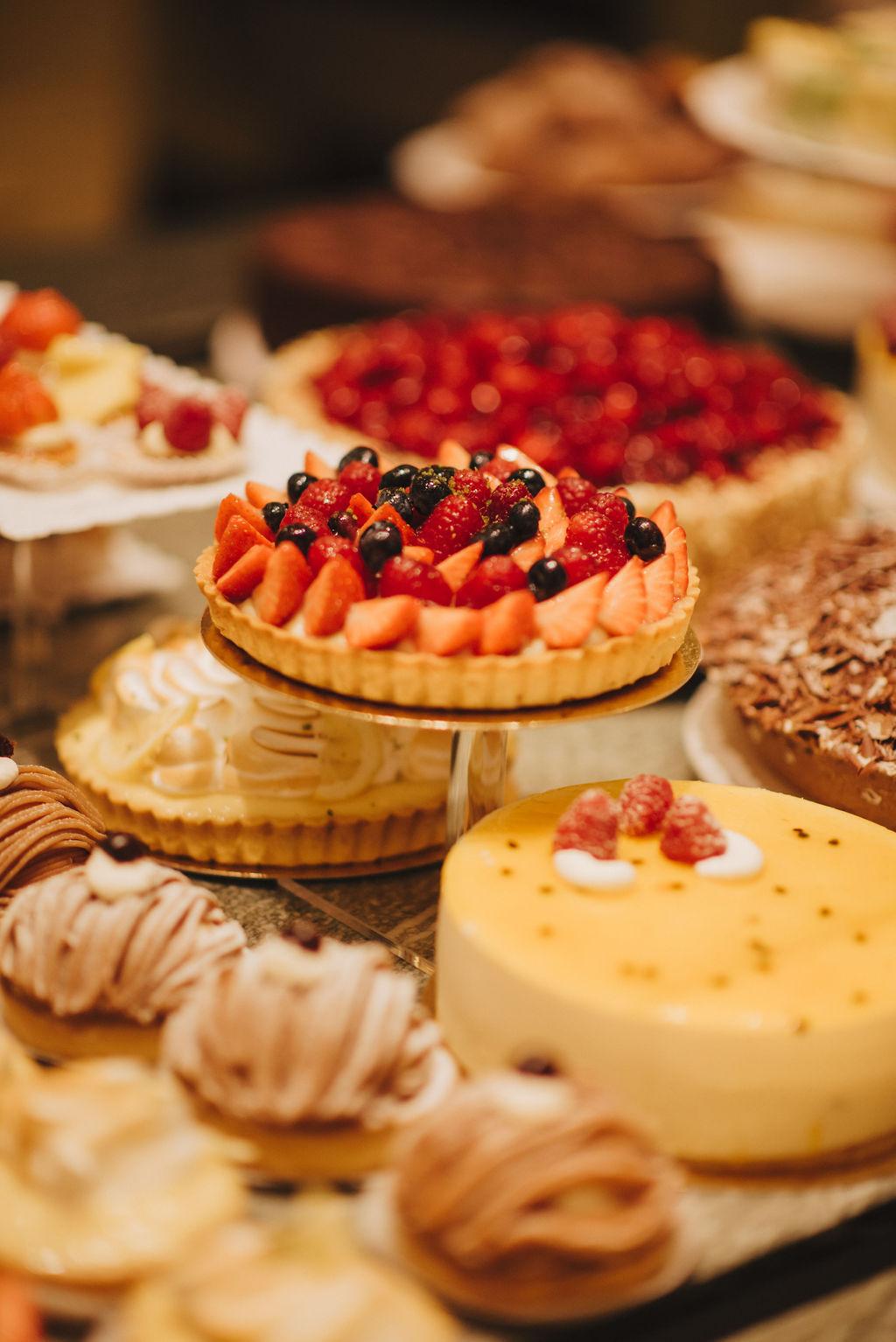 Minikuchen und Torten