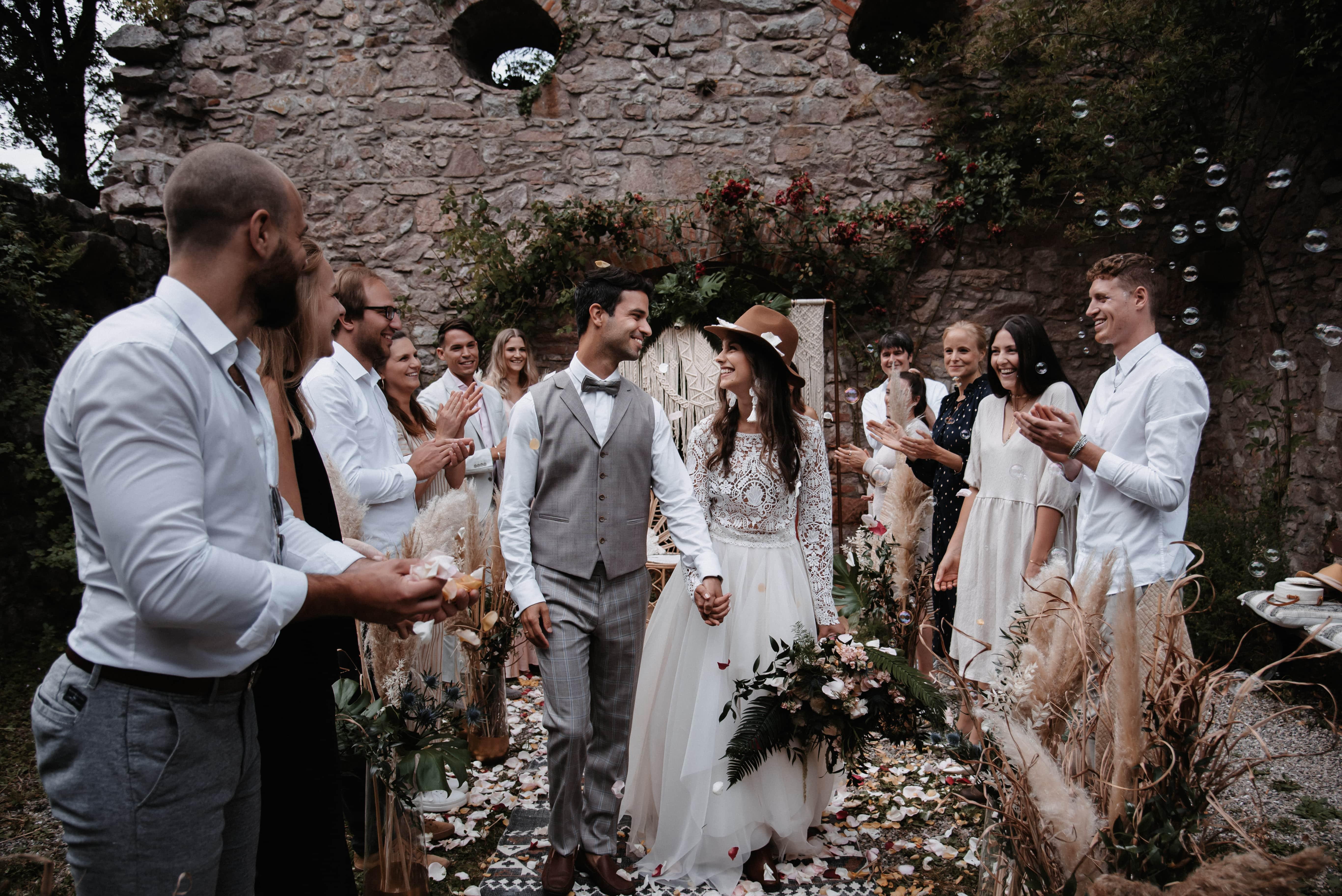 Hochzeit am Schloss