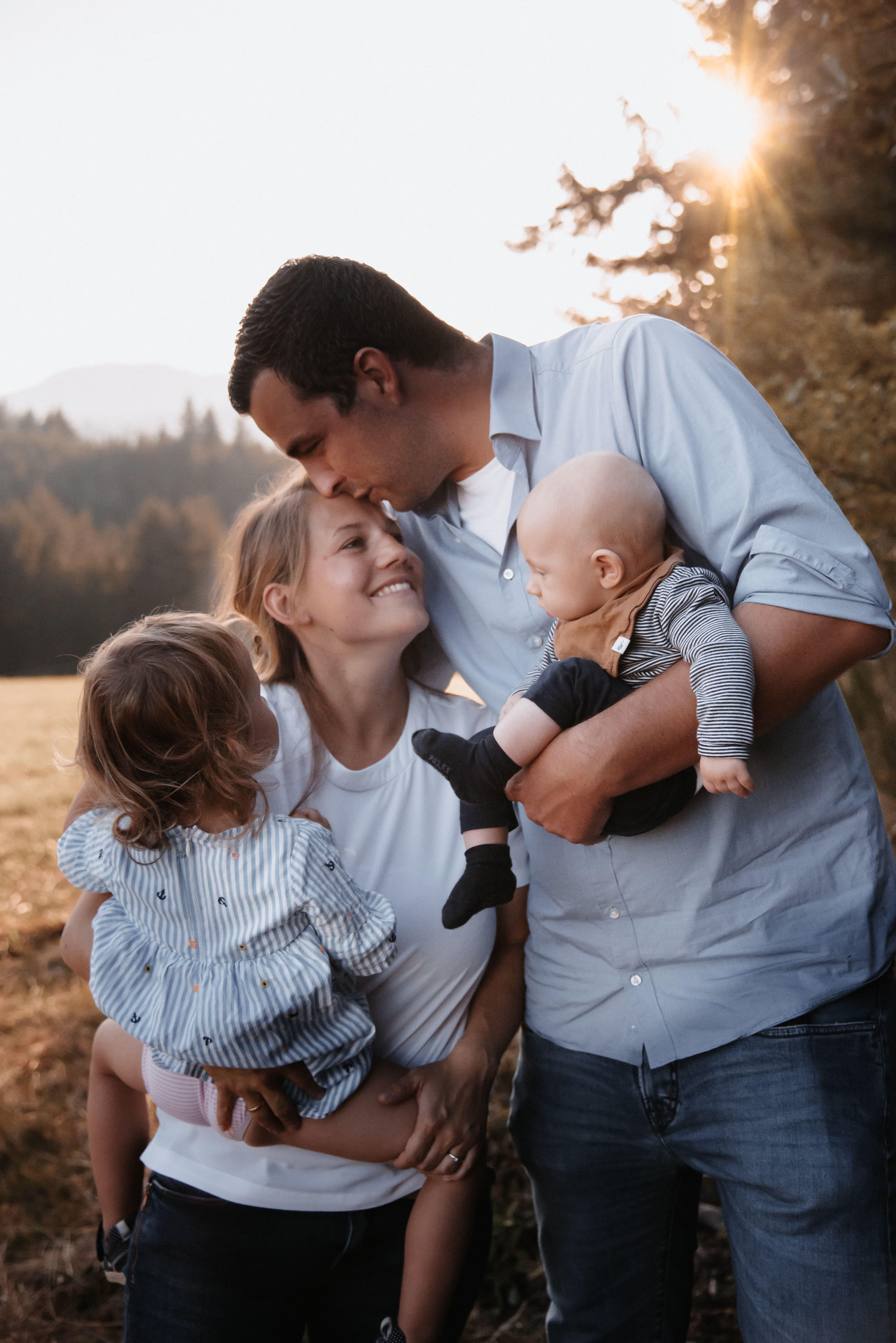Familienglück zu viert