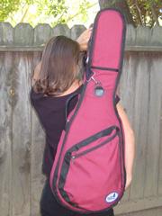 Softshell case - single strap backpack