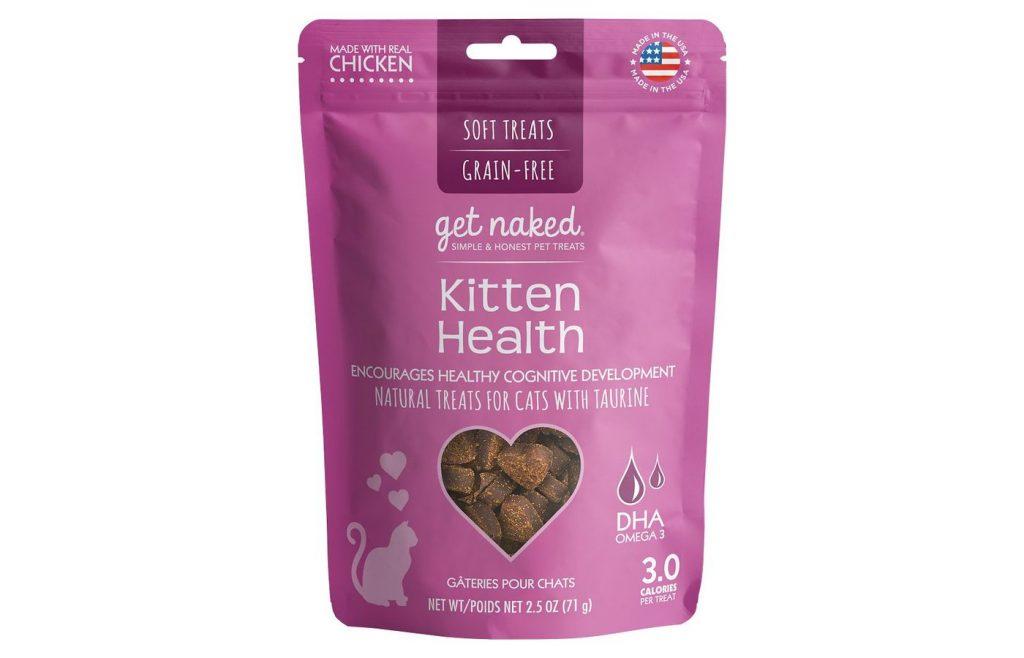 Get Naked Kitten Health Grain-Free Soft Cat Treats
