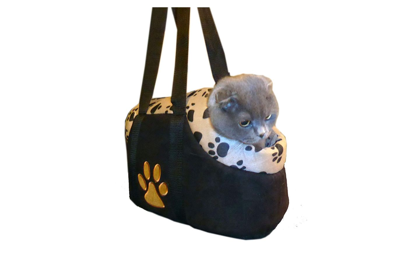 Happy Dog Place Paw Style Cat Carrier