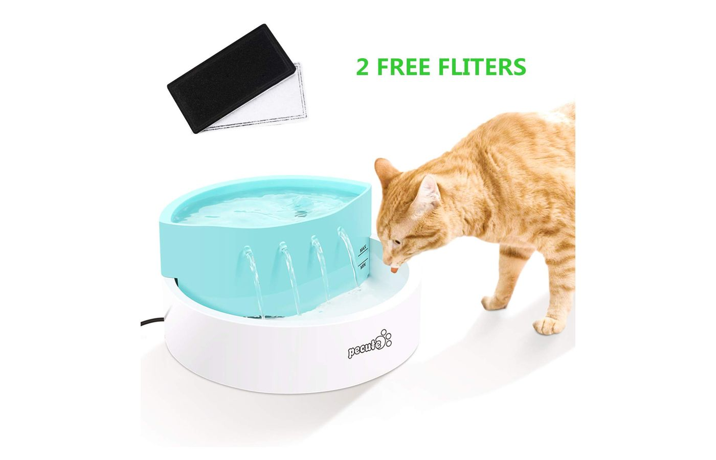 Pecute Cat Water Fountain