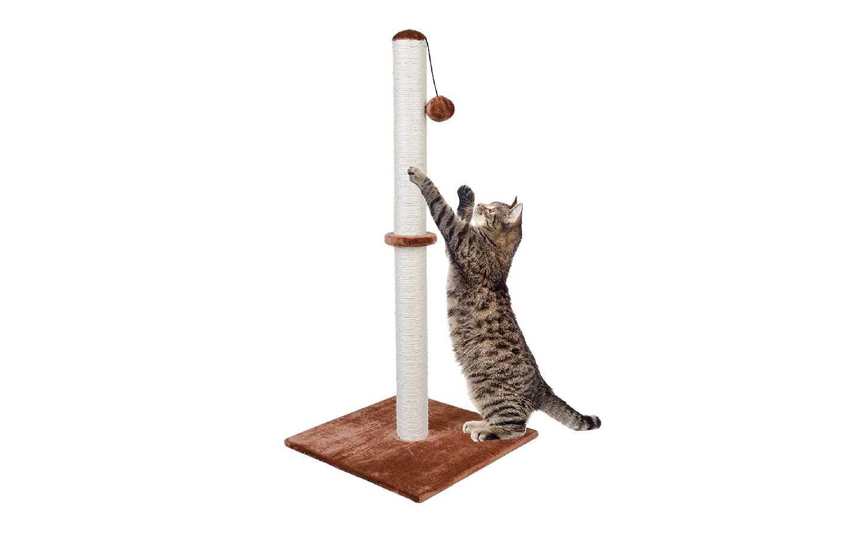 Dimaka Tall Cat Scratching Post 37 in.