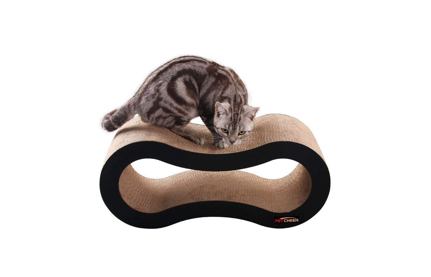 Petcheer Ultimate Cat Scratcher Lounge Bed