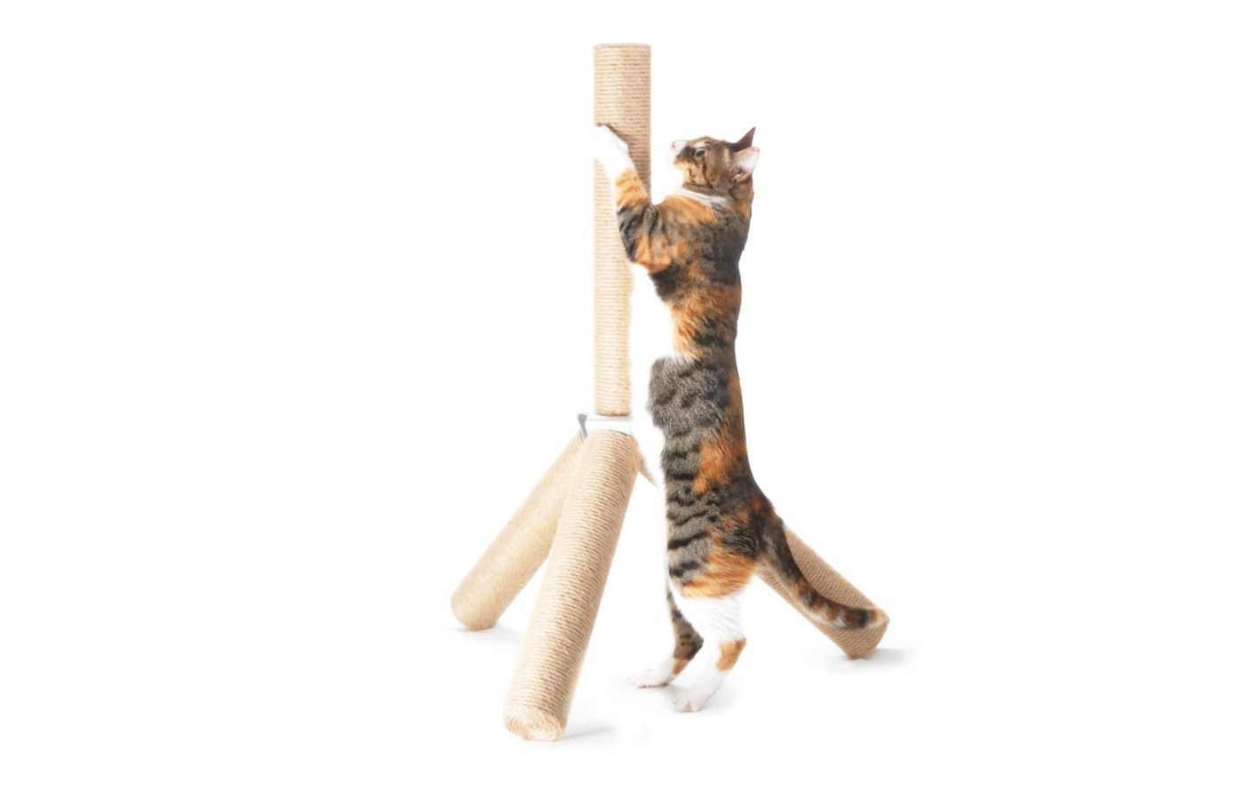 4Claws Jute Tripod Scratching Post 30""