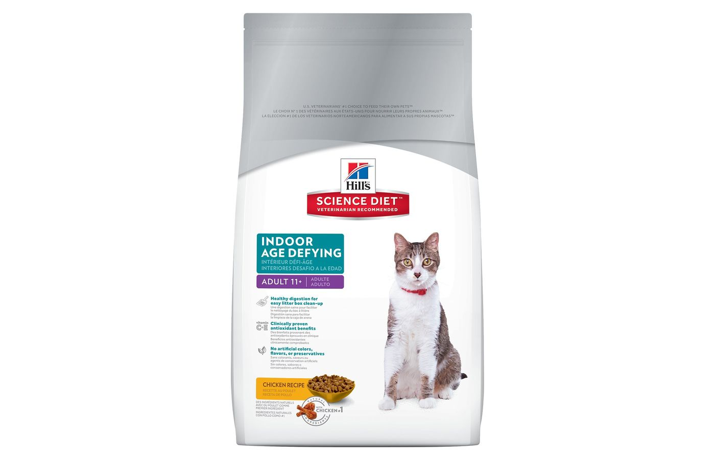 Hill's Science Diet Adult 11+ Indoor Age Defying Cat Food