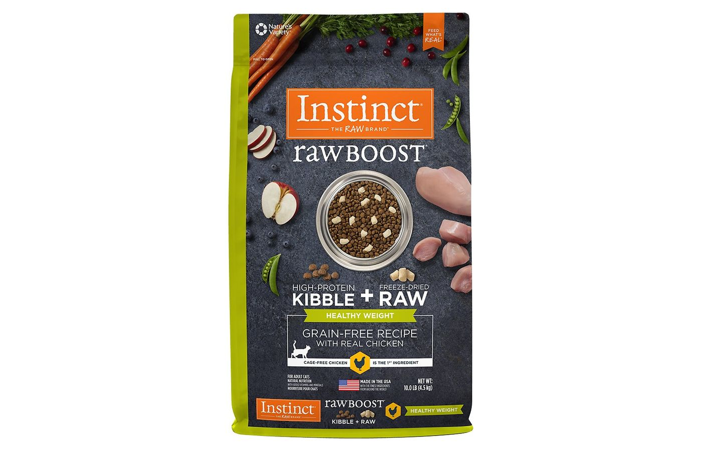 Instinct by Nature's Variety Raw Boost Healthy Weight Dry Cat Food