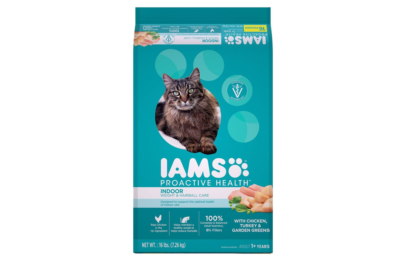 IAMS Proactive Health Indoor Weight and Hairball Cat Dry Cat Food