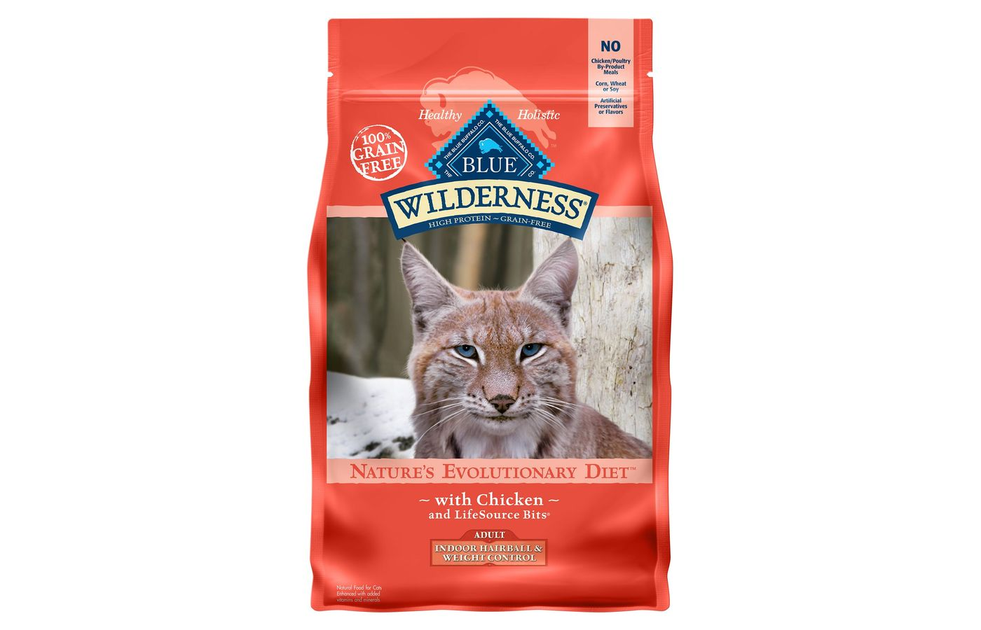 Blue Buffalo Wilderness Indoor Hairball & Weight Control Dry Cat Food
