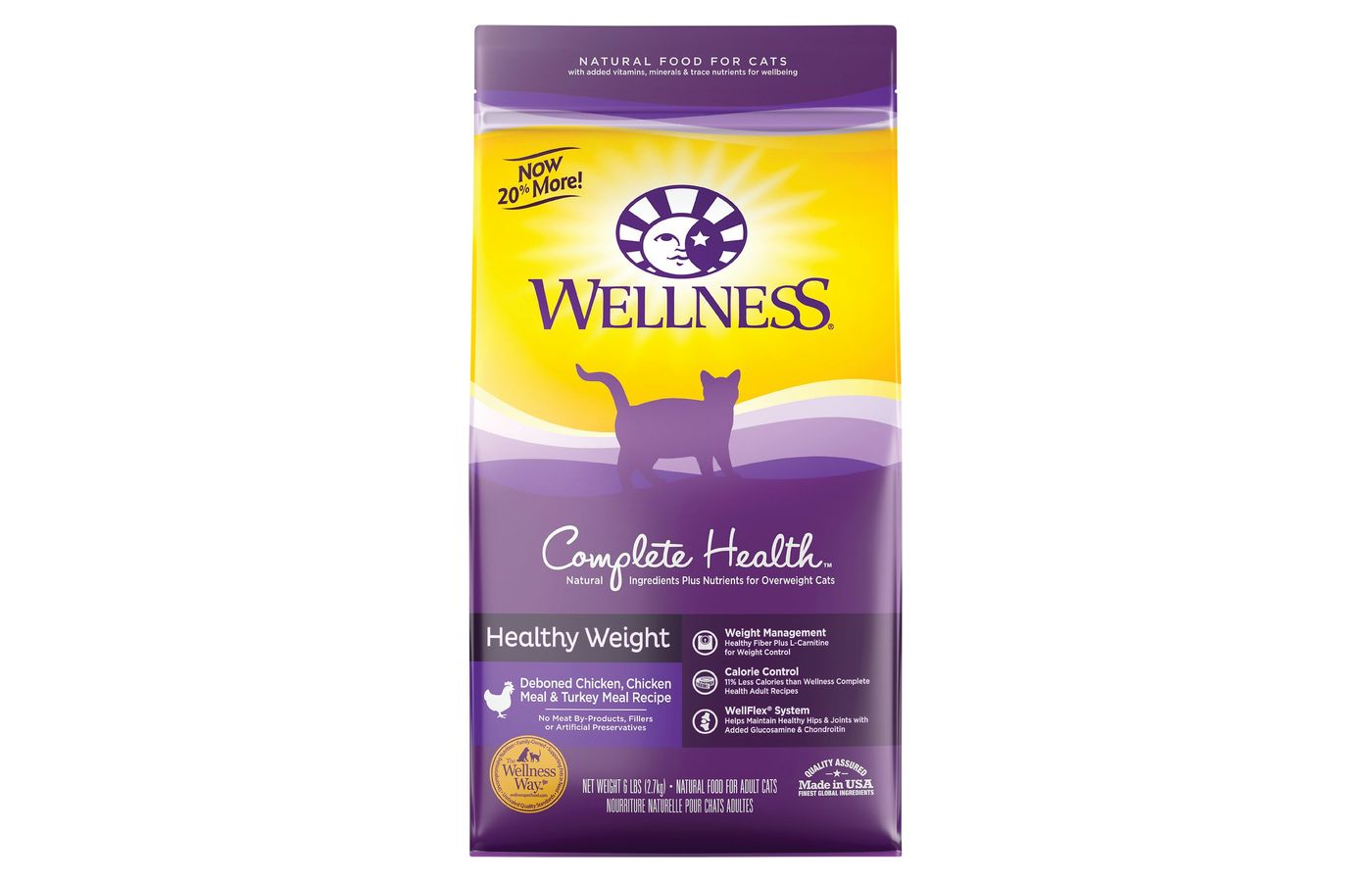 Wellness Complete Health Healthy Weight Dry Cat Food