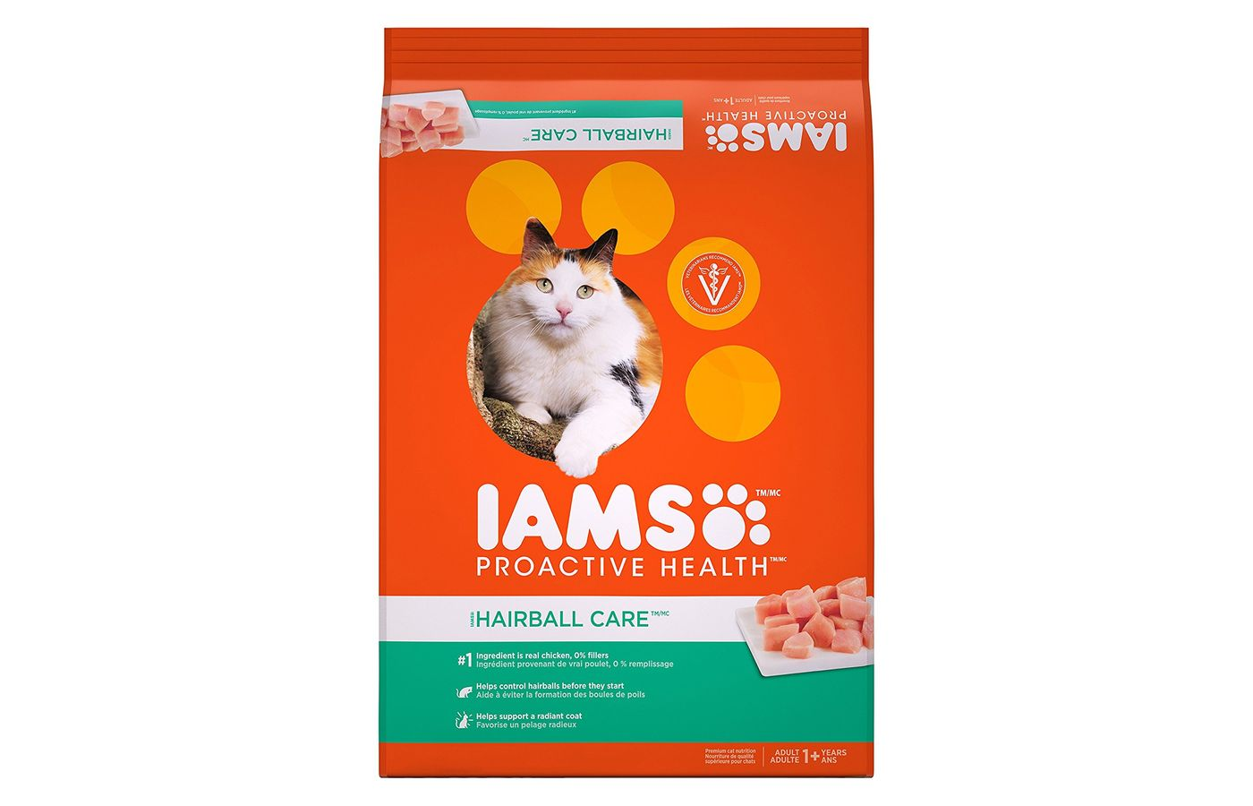 Iams Proactive Health Adult Hairball Care Dry Cat Food