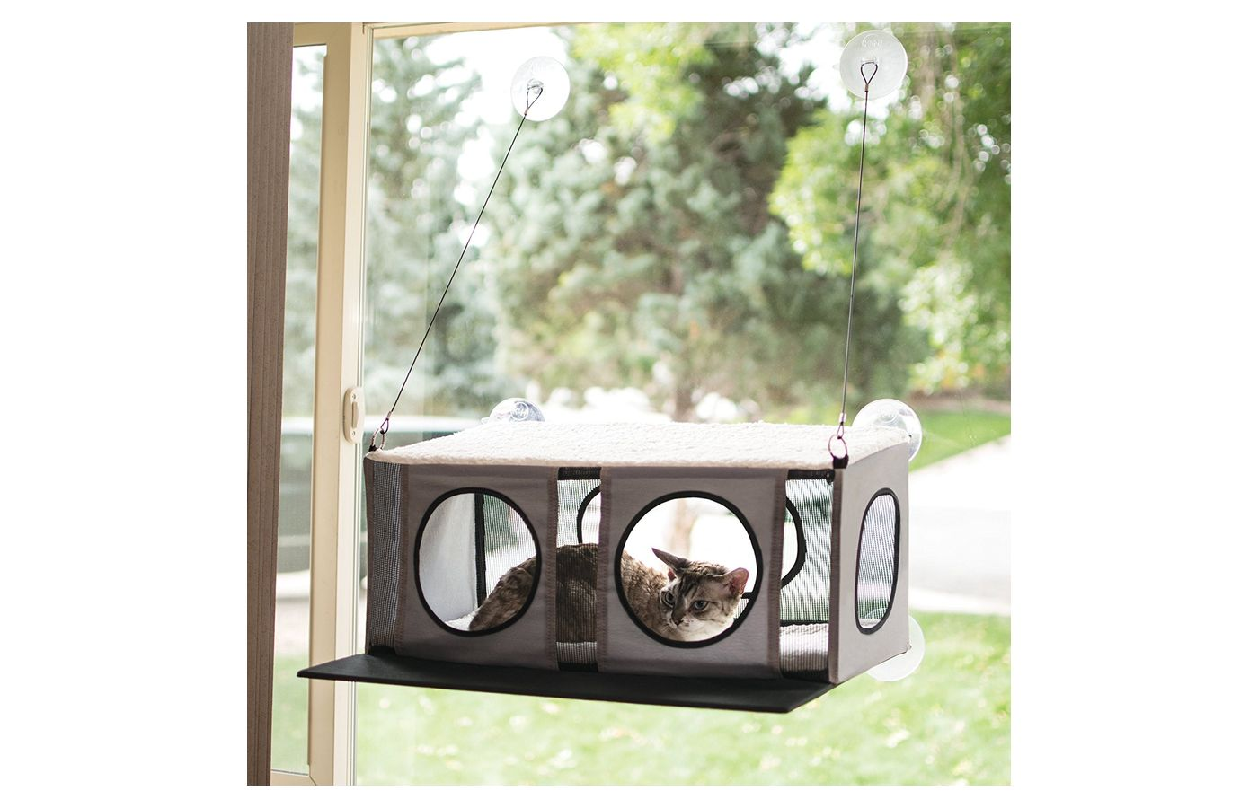 K&H Pet Products EZ Mount Window Cat Penthouse