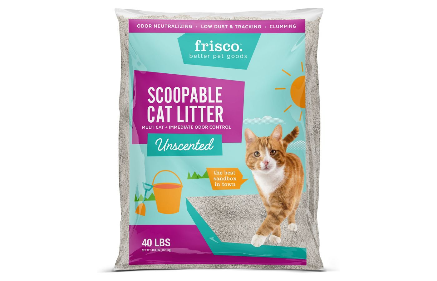 Frisco Multi-Cat Clumping Litter