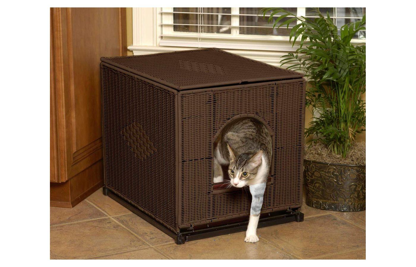 PetSafe Solvit Mr. Herzher's Cat Litter Pan Cover