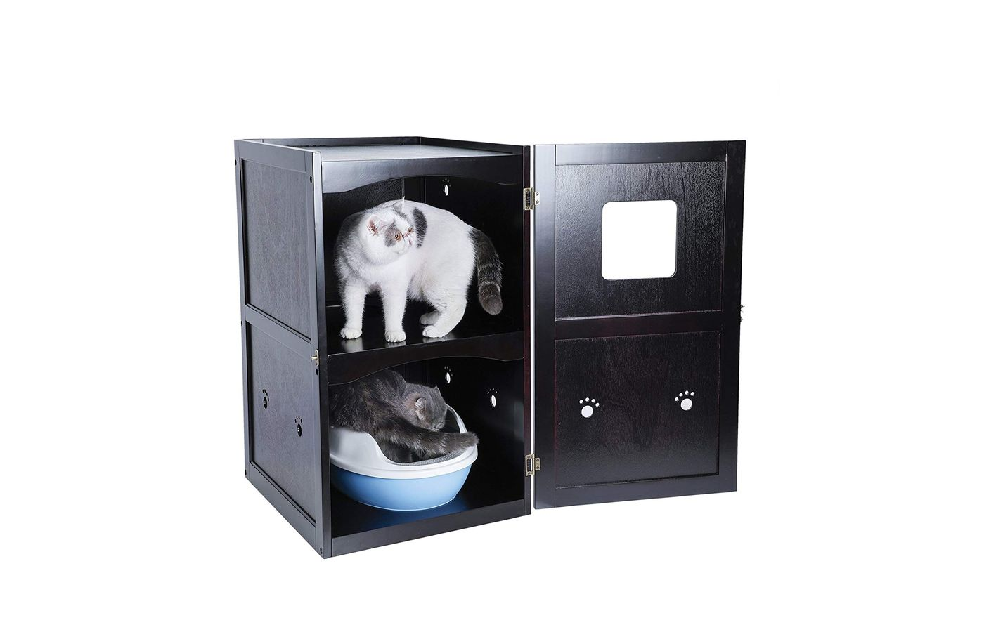 Petsfit Double-Decker Litter Box Enclosure
