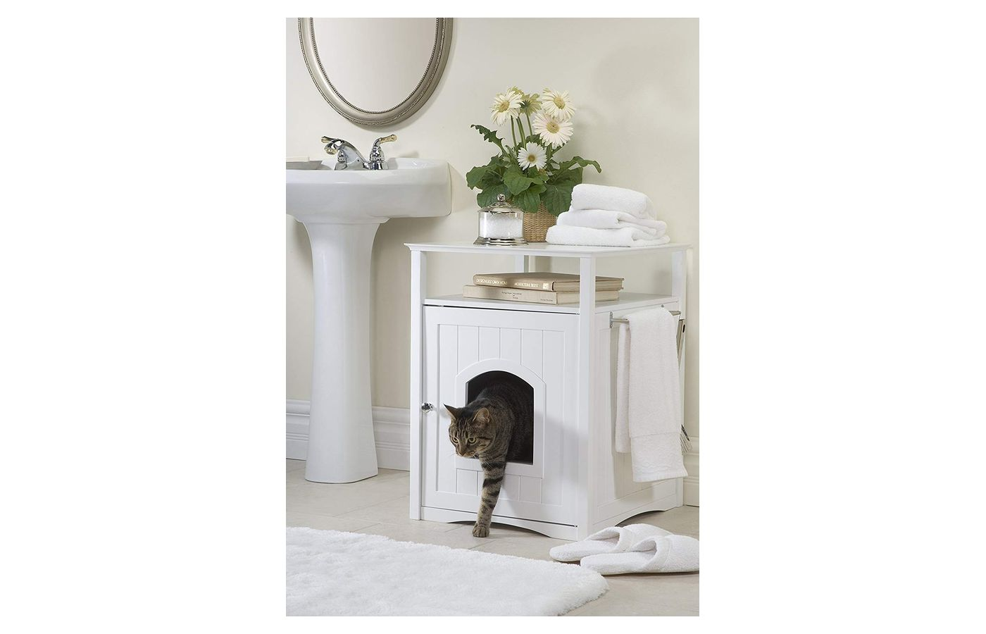 Merry Pet Washroom-Nightstand Pet House