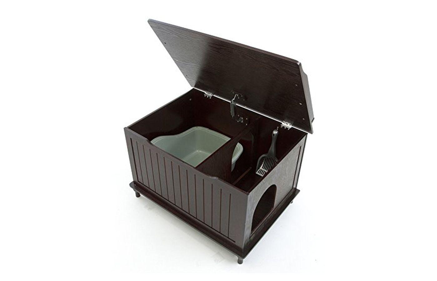 Designer Catbox Nora Cat Litter Box Chest