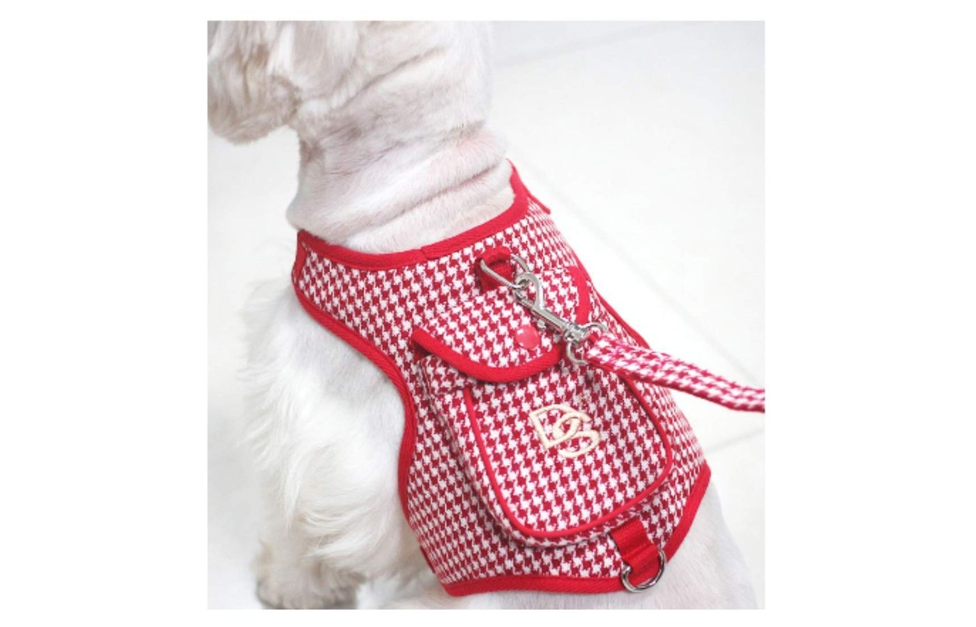 Stock Show Classic Houndstooth Cat Harness