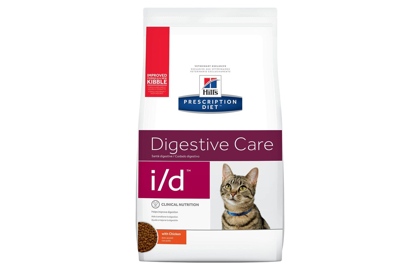 Hill's Prescription Diet i/d Digestive Care Chicken Flavor Dry Cat Food