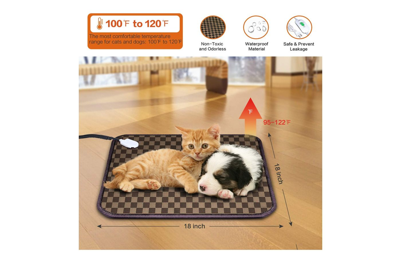 Mospro Pet heating Pad or Bed