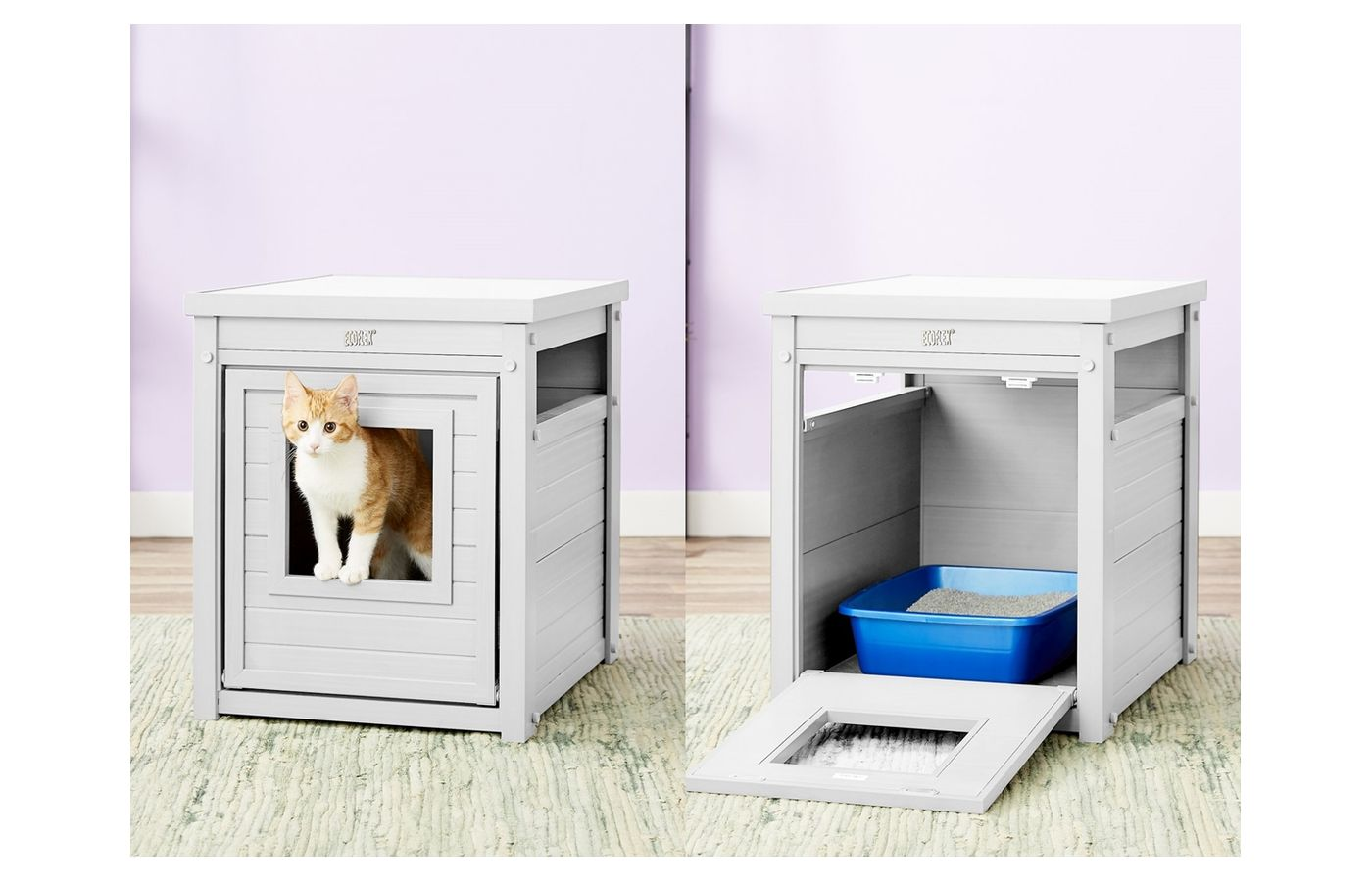 New Age Pet ecoFLEX Litter Loo & End Table