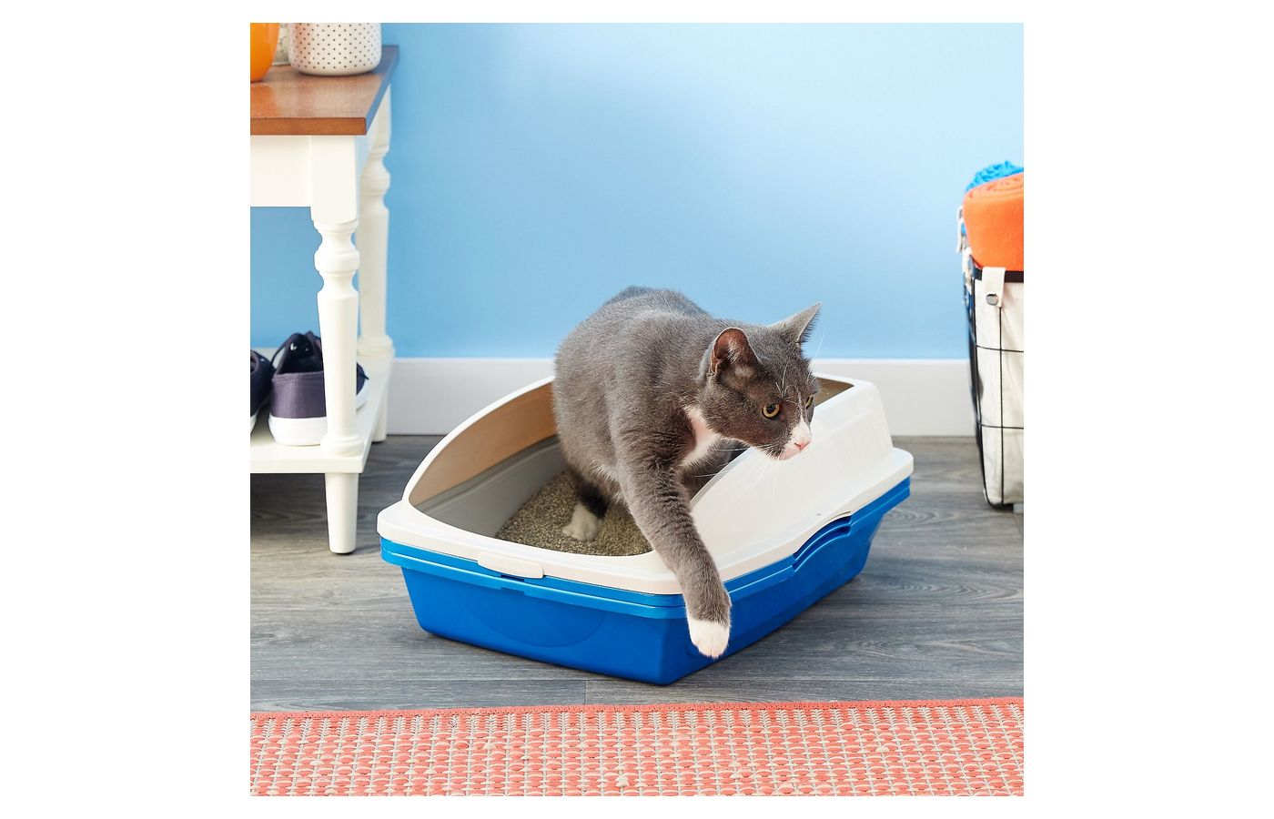 Van Ness Sifting Cat Litter Box with Frame