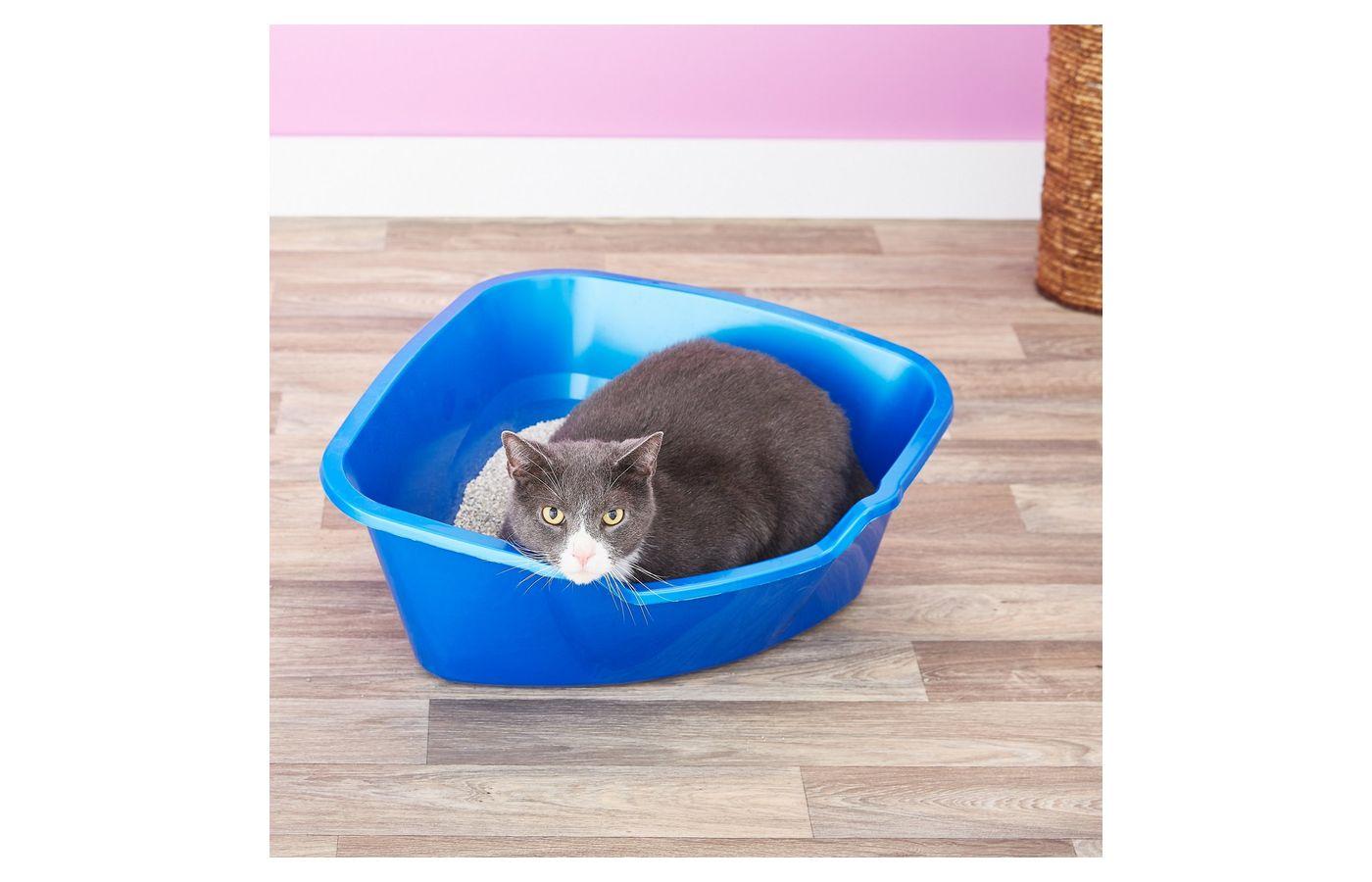 Van Ness High Side Corner Cat Litter Pan