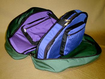 Autoharp 5 - Autoharp Bag Full Open