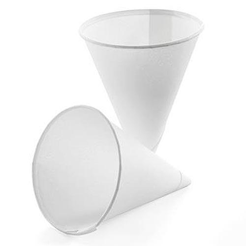 4oz Paper Water Cones x 5000