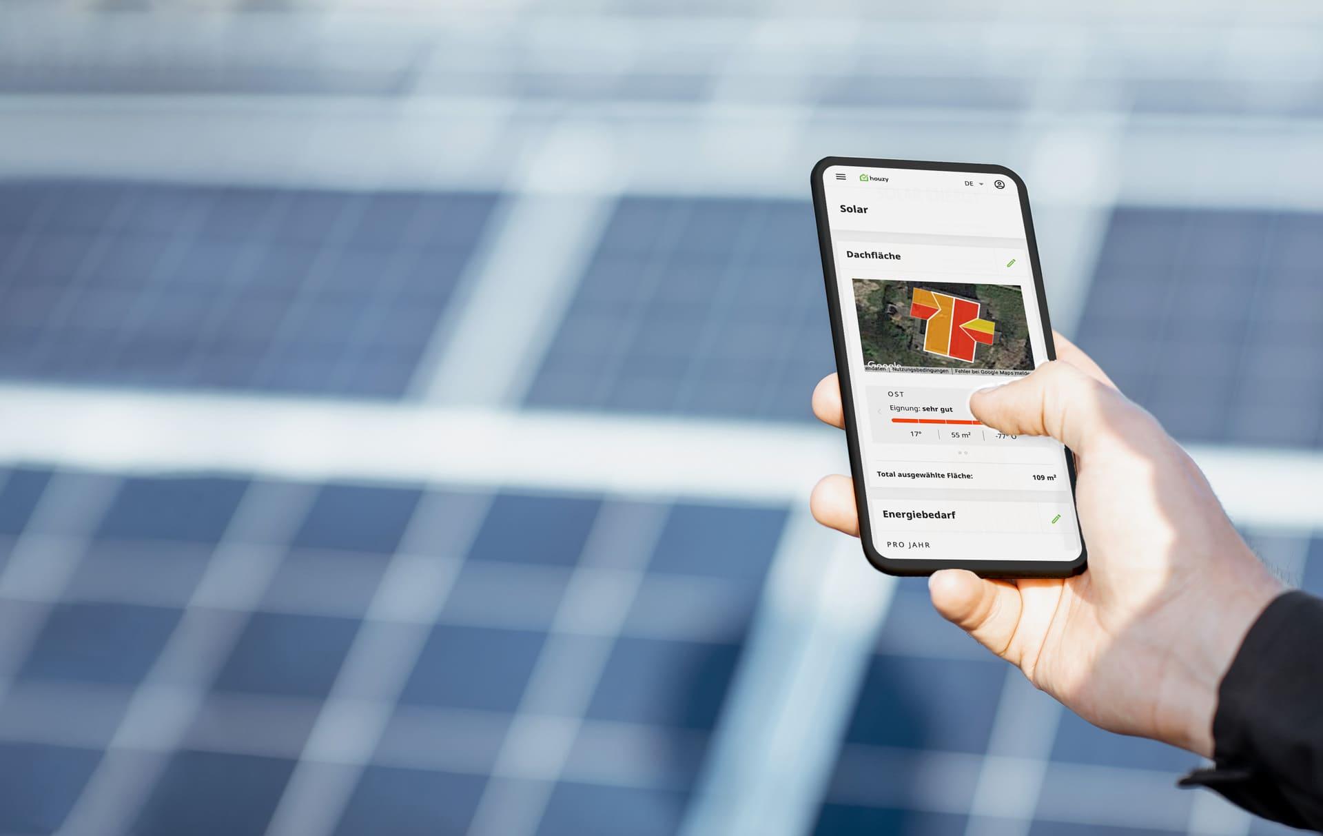 Houzy Solarrechner